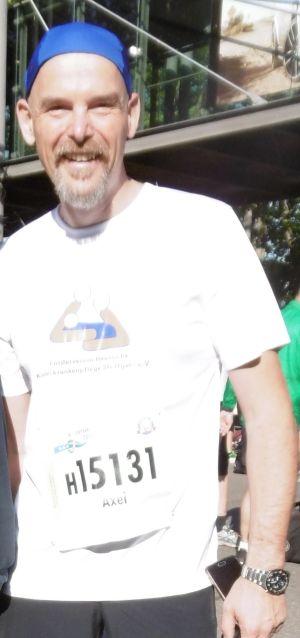 Axel Weirauch- unser Halbmarathon- Mann